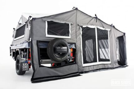 2017 black series sergeant camper trailer Gowrie Tuggeranong Preview