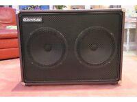 Cornford 2 x 12 guitar speaker cabinet