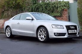 Audi A5 3.0 TDI Sport Quattro Coupe Full Leather, Sat Nav, FSH, No Advisories