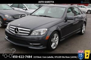 2011 Mercedes-Benz C-Class C300 4MATIC/AWD XENON, TOIT OUVRANT,