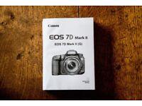 Canon 7D Mark II E Instruction Manual