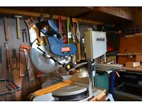 Ryobi 305mm Sliding double bevel mitre saw swap for table saw
