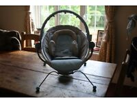 ITALIAN Design Baby Chair/Bouncer in Pale Blue