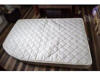 Caravan mattress For Fixed Double Bed. Suit Lunar Quasar and other comparable beds.