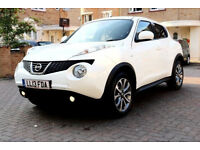 (51000 Miles AUTO)- 2013 Nissan JUKE 1.6 TEKNA Automatic - Navigation - CEMERA - LEATHER -Part Ex OK