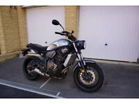 Yamaha XSR700 Silver 700cc A2 License Motorcycle 2016- 774 miles Only!