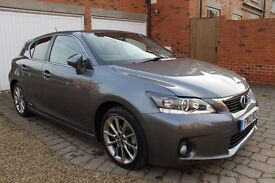 Lexus CT 200H 1.8 Advance CVT Hybrid with 5 Yr Warranty & Roadside Cover included