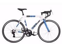 Barracuda Men's Team Bike Road Bike - White/Blue ( Wheel 700C, Frame 22 1/2 Inch)