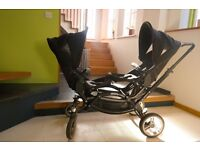 OBaby ABC Design Zoom Tandem + Seats + Car seats + Cots