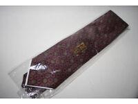NEW Vintage DAKS of London Pure Silk Men's Tie Geometric Made in England Sealed