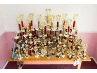 FREE karate trophies for recycling, various sizes