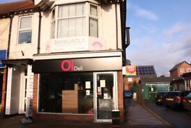 GROUND FLOOR SHOP TO LET -198a UPPINGHAM ROAD LEICESTER. AVAILABLE IMMEDIATELY