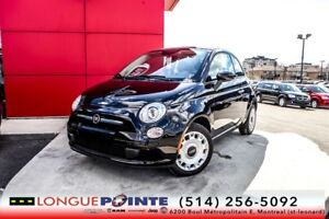 2015 Fiat 500C Pop 4cyl 1.4L, 5vit, AC, Bordeaux Soft Top