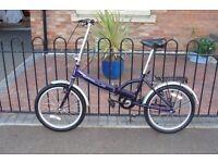 Halfords Apollo Folding Bike