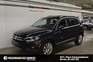 2015 Volkswagen Tiguan Highline, GPS, LEATHER, FULLY LOADED!