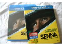 Ayrton Senna Blu ray movie. Unopened, unused, still in original wrapping.