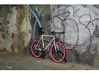 GOKU CYCLES Steel Frame Single speed road bike TRACK bike fixed gear fixie racing bike F3E