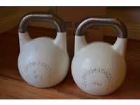 Pair 10kg Competition Russian Kettlebells (Wolverson fitness)