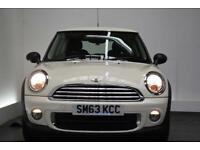 MINI HATCH ONE 1.6 ONE D [AIR CON/ALLOYS] 3d 90 BHP (white) 2013