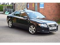 2006 AUDI A4 T FSI S LINE 200bhp 2.0*VERY HIGH SPEC*SUN ROOF**SPORTS SEATS*AUTO LIGHTS & WIPERS