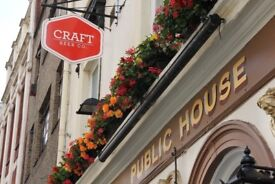 Assistant Manager - Clerkenwell - Open Mon-Sat Only - Fun, Progressive, Independent Company