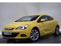 VAUXHALL ASTRA 1.4 GTC SRI S/S 3d 138 BHP (yellow) 2014