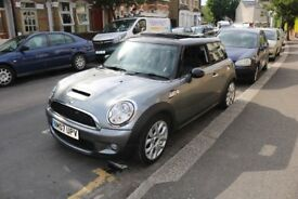 2007 Mini Cooper S 1.6 Turbo with Panoramic sunroof, Just been serviced