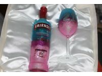 Glitter Glasses order now in various colours for any occasion