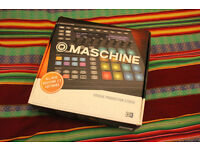 Native Instruments Maschine MK2 Mint Condition used less than 10 times (Box + Software included)