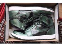 Nike Air Jordan 1 Patent Leather 'Grove Green' size UK11