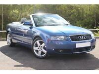 Audi a4 convertible 1.8t *EXTREMELY LOW MILEAGE*