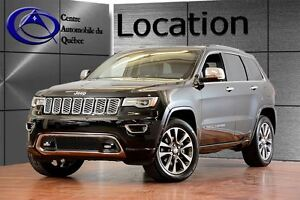 2017 Jeep Grand Cherokee Overland CUIR TOIT NAV LOCATION 1 À 12