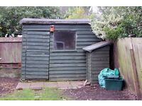 Large garden shed / workshop