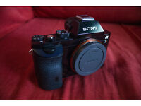 Sony a7r i - Comes with original box, battery, battery charger, body cap and manual