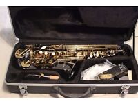 Alto Saxophone - Gear4Music - Black and Gold