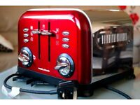 morphy richards toaster red