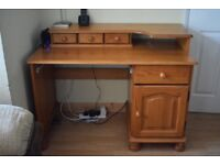 Office Pine Desk