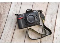 Nikon D300s and Tamron 70 300 lens.