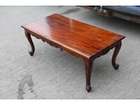 coffee table solid mahogony