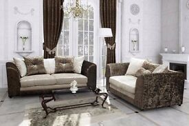 BRAND NEW SOFA 3+2 SEATER OR CORNER RH/LH AVAILABLE IN CRUSH VELVET ***1 Year Warranty""""