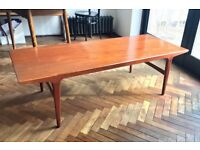 mid-century danish coffee table