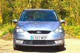 Ford Galaxy 2.0 LX 5dr FULL SERVICE HISTORY 2007 (07 reg), MPV 54,036 miles Manual 1999cc Petrol