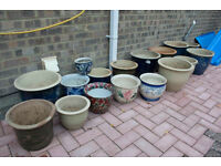 A Selection of Plant Pots