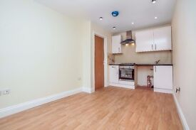 One bedroom apartment newly converted with timber style flooring, decorated in neutral colours