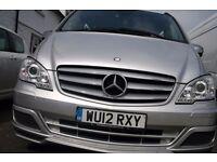 £14,850 Mercedes-Benz Vito 3.0 122CDI Dualiner Sport Compact Panel Van 5dr (EU5)
