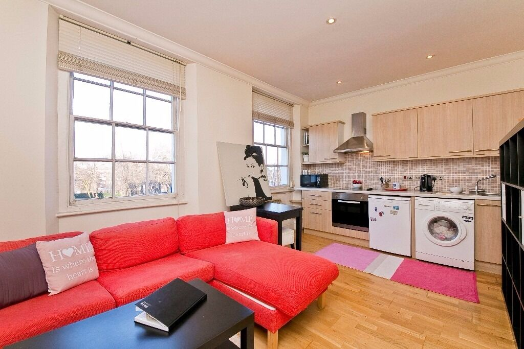 FANTASTIC 1 DOUBLE BEDROOM APARTMENT MOMENTS FROM MORNINGTON CRESCENT STATION, CAMDEN & EUSTON