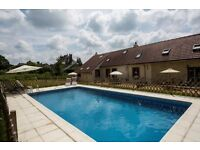 July 2018 2 weeks for Price of 1 week SW France La Grace 1 bed holiday Cottage/Gite with Pool