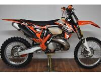 Ktm xc 250 2012 road registered , enduro mx bike not 125 300