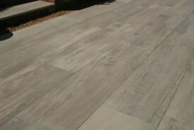 Crosswood Buff Porcelain Paving Slabs