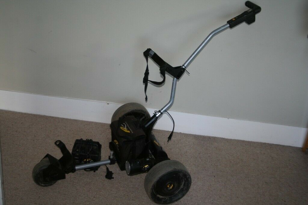 Powakaddy Classic Legend golf trolley with battery and charger in good  condition | in Brighton, East Sussex | Gumtree